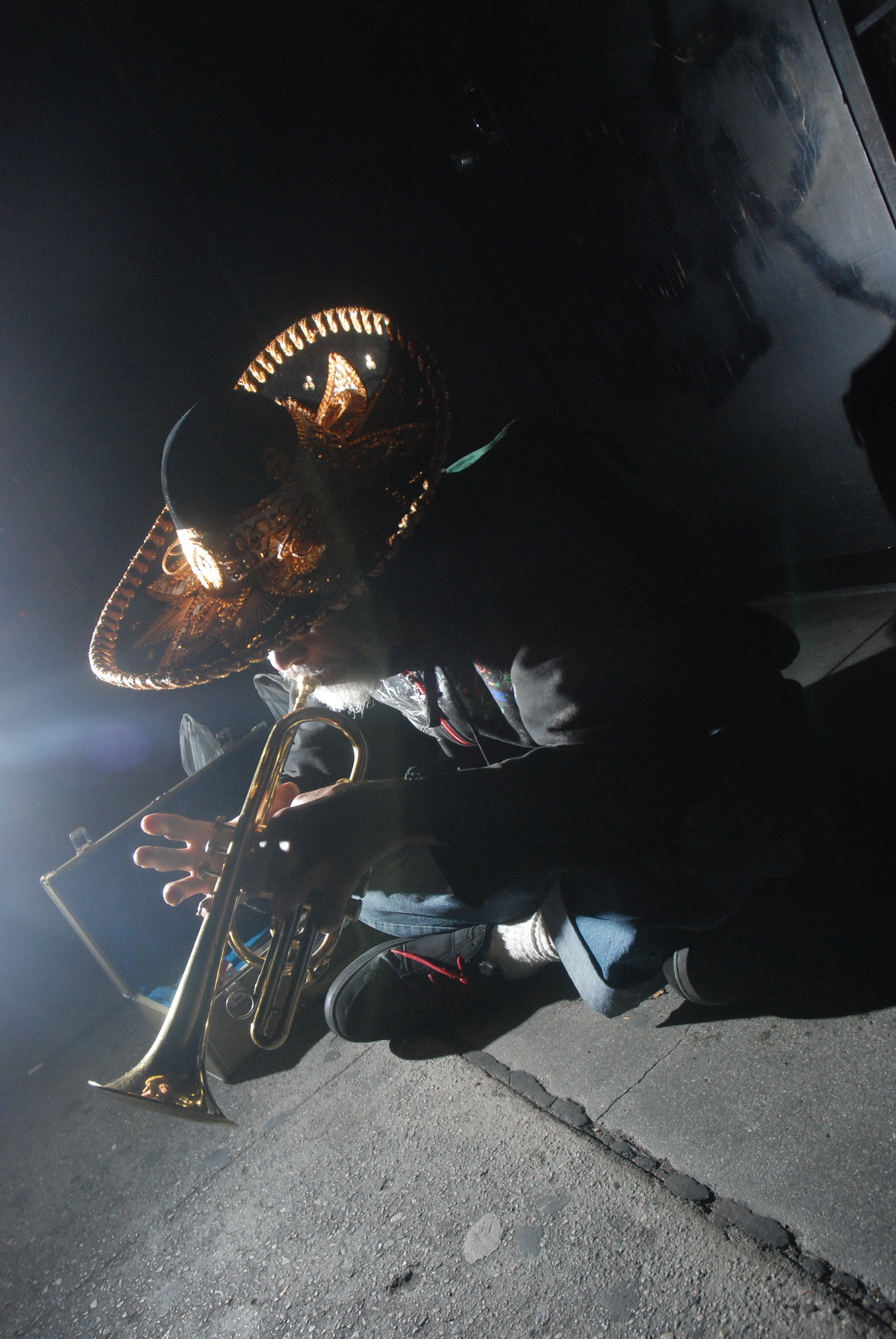 Gabriel and his trumpet